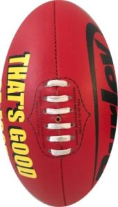 Burley Sports: Will be supplying TGFF with a game size ball & 2 mini footballs this year in the raffle, The Footballs are signed by the panellists appearing on the show.